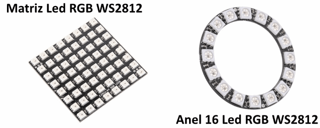 Neopixel led enderecavel WS2812