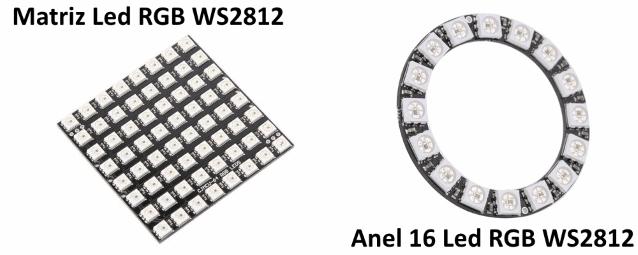 Neopixel led enderecavel WS2812