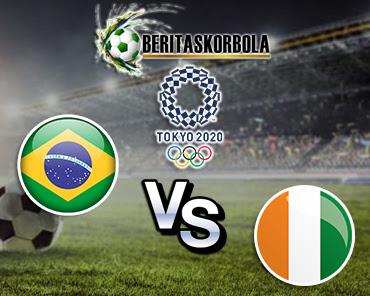 Prediksi Bola Olimpiade Brazil Vs Pantai Gading 25 Juli 2021