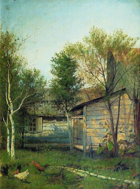 Исаак Ильич Левитан - Солнечный день. Весна. 1876-1877