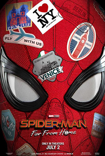 Spider Man Far from Home 2019 English HDCam NEW V2 ||720p||480p