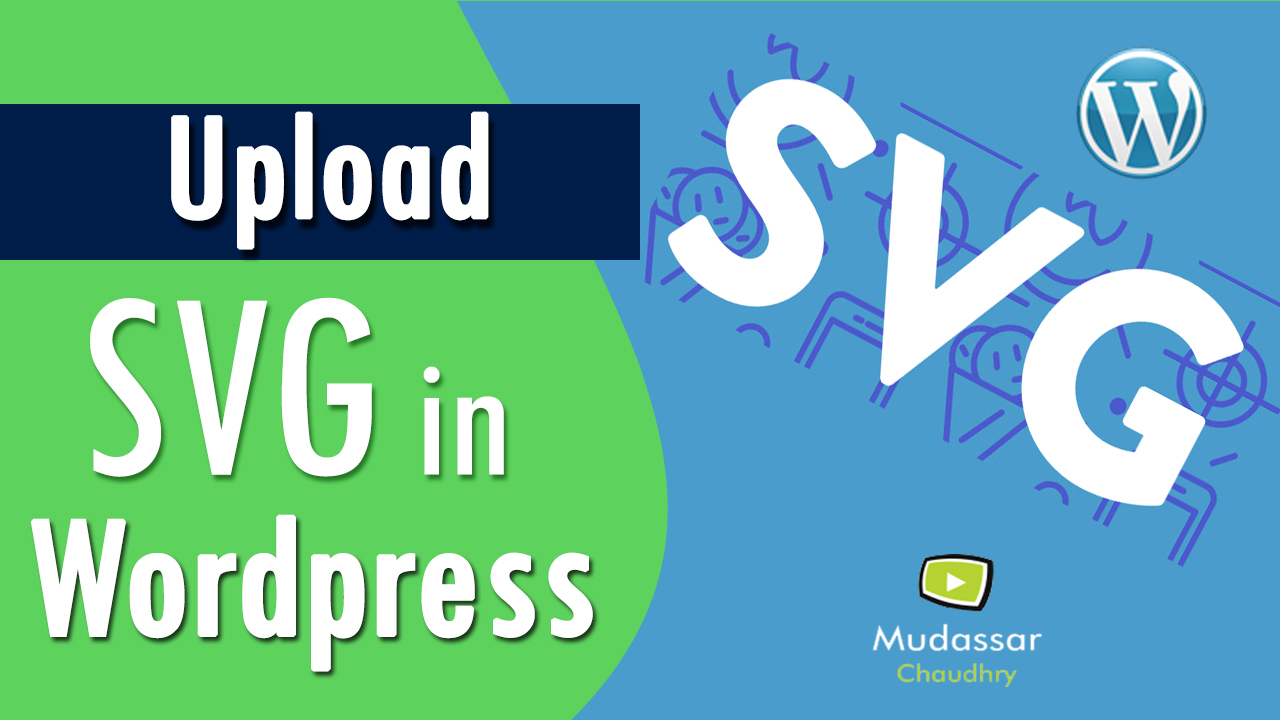 how to upload svg to wordpress