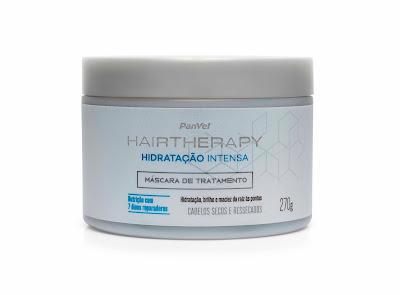 Máscara de Tratamento Panvel Hair Therapy Hidratação Intensa
