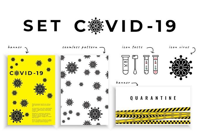 Set covid-19, corona virus