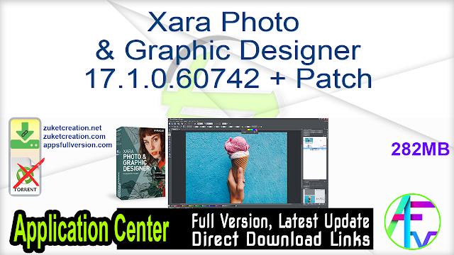 Xara Photo & Graphic Designer 17.1.0.60742 + Patch