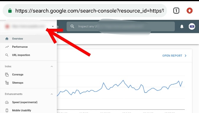 How to check website backlinks using google webmaster tools (Google Search Console) Step 3