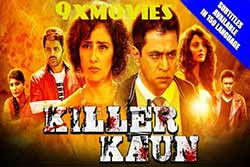 Killer Kaun 2018 Hindi Dubbed Full Movie HDRip 720p