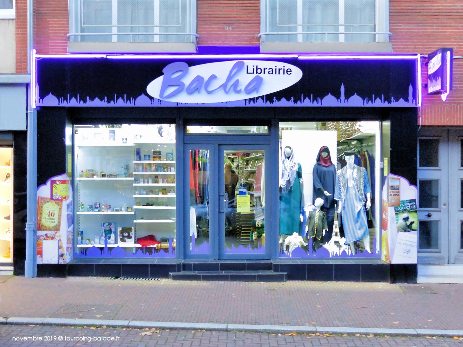 Bacha Libraire 2 - Tourcoing, rue de la Cloche