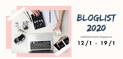 BLOGLIST 2020 by nasihattermasyhur, segmen bloglist, blogger, blog,