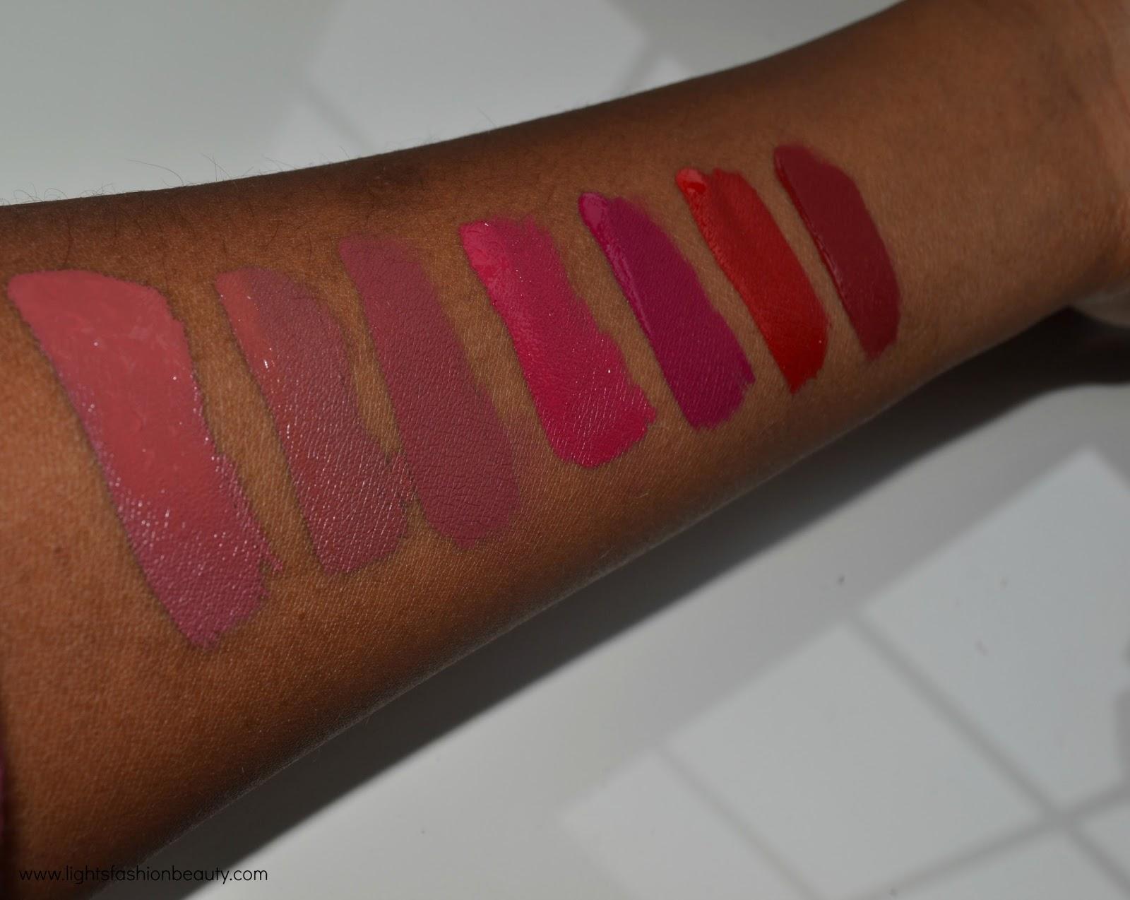 colourpop liquid lipsticks, colourpop ultra matte lip swatches on dark skin, colourpop liquid lipstick on dark skin, brown beauty blogger, drugstore liquid lipstick
