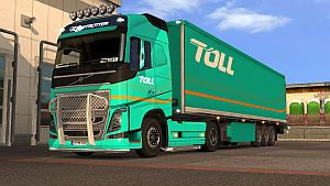 Toll pack for Volvo 2012 Globetrotter and Sleeper cabins