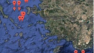 Πρόκληση της Τουρκίας- Με NAVTEX δεσμεύει για ασκήσεις με πραγματικά πυρά για τις 21 Σεπτεμβρίου θαλάσσιες περιοχές μεταξύ Λέσβου -Χίου