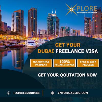DUBAI FREELANCE RESIDENCY VISA FOR NIGERIANS