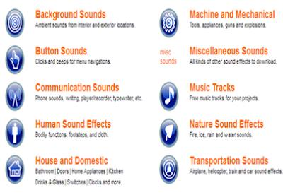 موقع تحميل المؤثرات الصوتية المستخدمة في عمل المونتاج مجانا