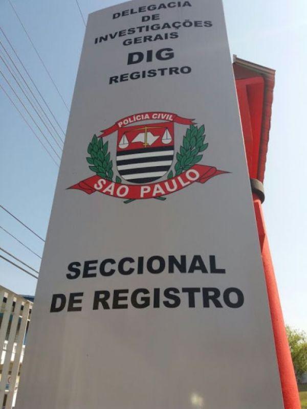 DIG  Registro-SP identificam criminoso que estava furtando os estabelecimentos comerciais da cidade