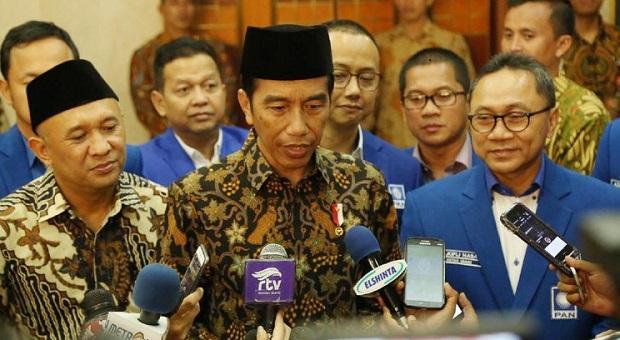 Zulhas Sambangi Presiden, PAN Lobi Masuk Koalisi Jokowi?