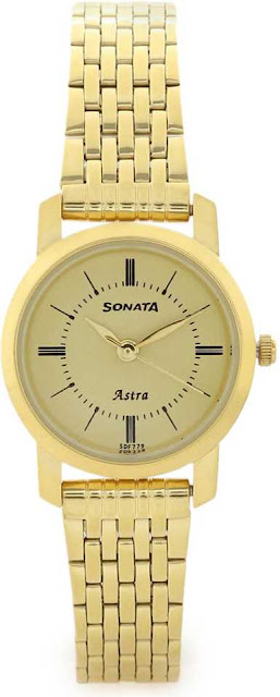 Sonata 87018YM01CJ Analog Watch