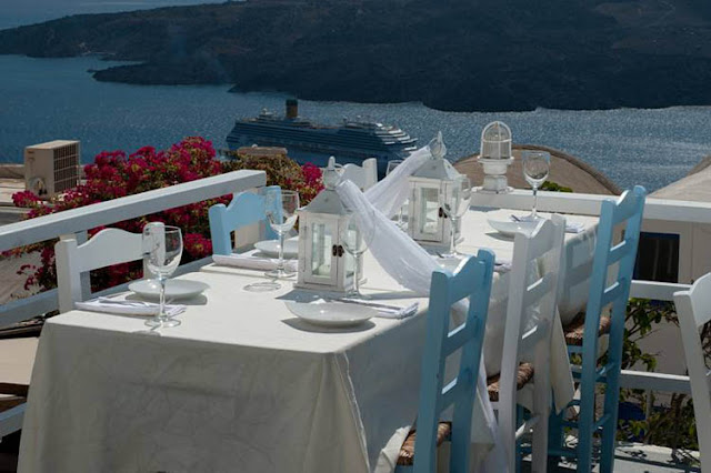 Restaurante Argo, Santorini