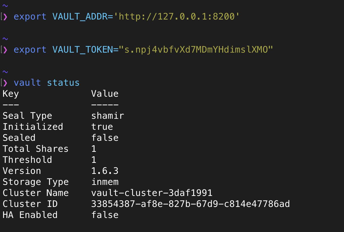 HashiCorp Vault Java Example