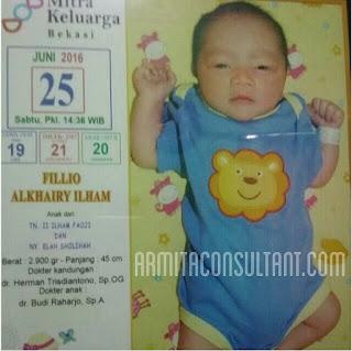 Contoh Nama Bayi Laki-Laki