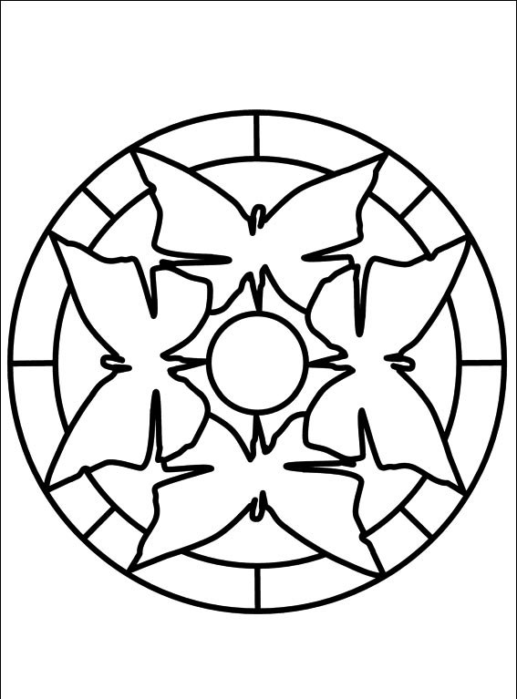 En Iyi Koleksiyon Mandala Boyama 4 Yas En Iyi Boyama Cocuk Kitabi