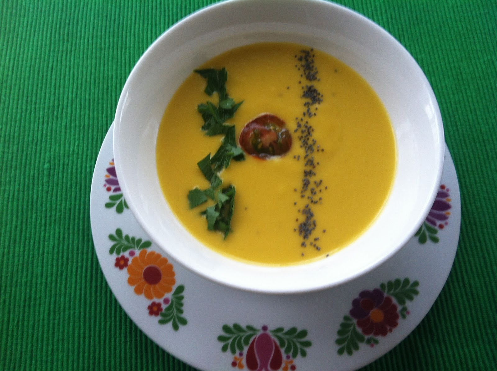 Las recetas de Martuka Crema Fra De Zanahorias Jengibre