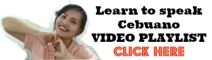 Learn to speak cebuano video playlist cebuano101