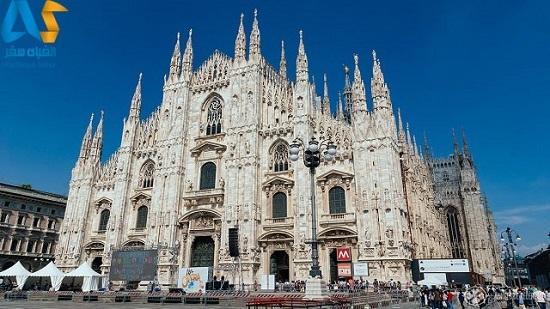 کلیسای جامع میلان در ایتالیا