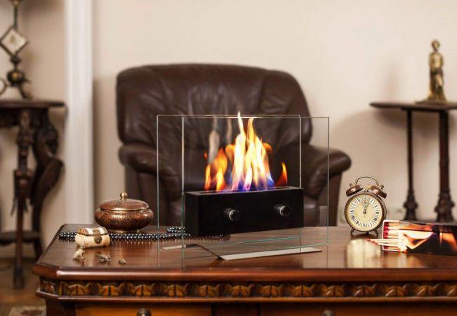 Manufacturing of bio-fireplaces