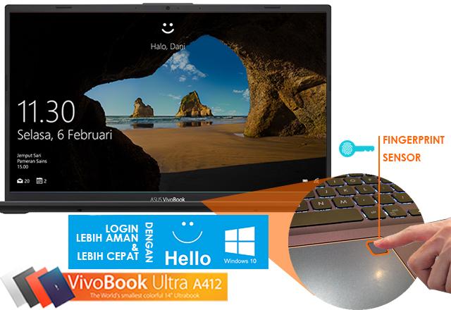 "ASUS VivoBook Ultra A412 "" Laptop Paling Ideal Saat Ini """