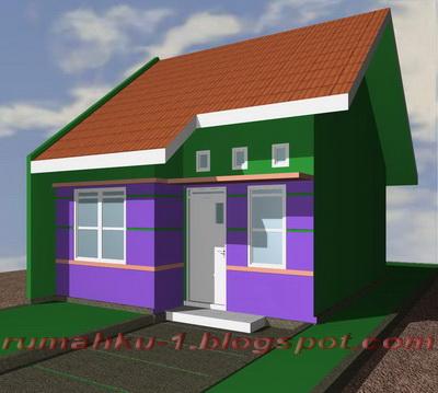 rumahku-1: contoh kaplingan rumah tipe 36 minimalis