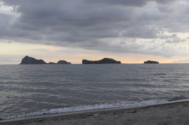 Beaches in the philippines zambales sunset