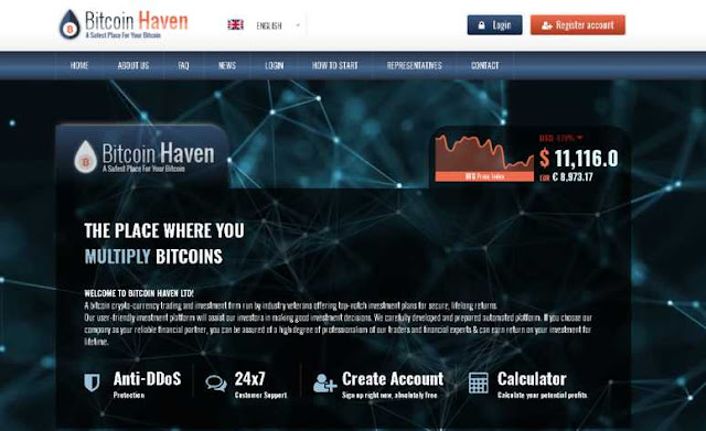Review of BITCOINHAVEN.LTD Is Scam or Legit?(New Site)