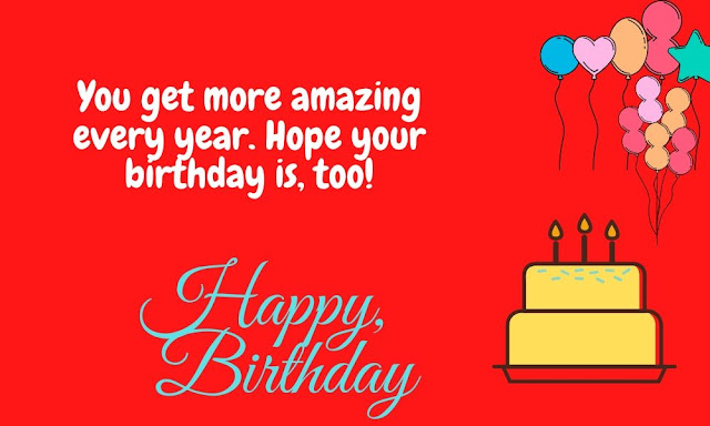 Happy birthday wishes image for friend