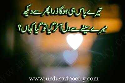 Teray Paas Hi Hoga Zara Phir Se Daikh
