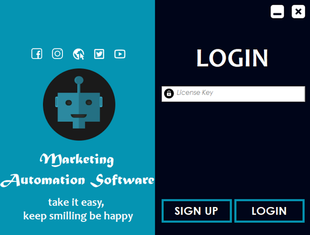 Login Dashboard