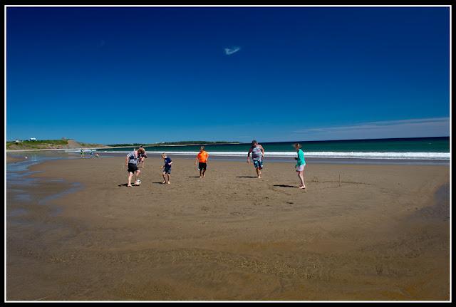 Nova Scotia; Hirtle's Beach; Beach; Atlantic; Shore; Maritimes; Soccer