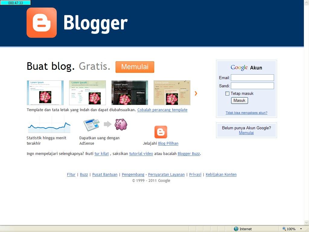 Tutorialmisterianehlucucaratips Cara Membuat Blog