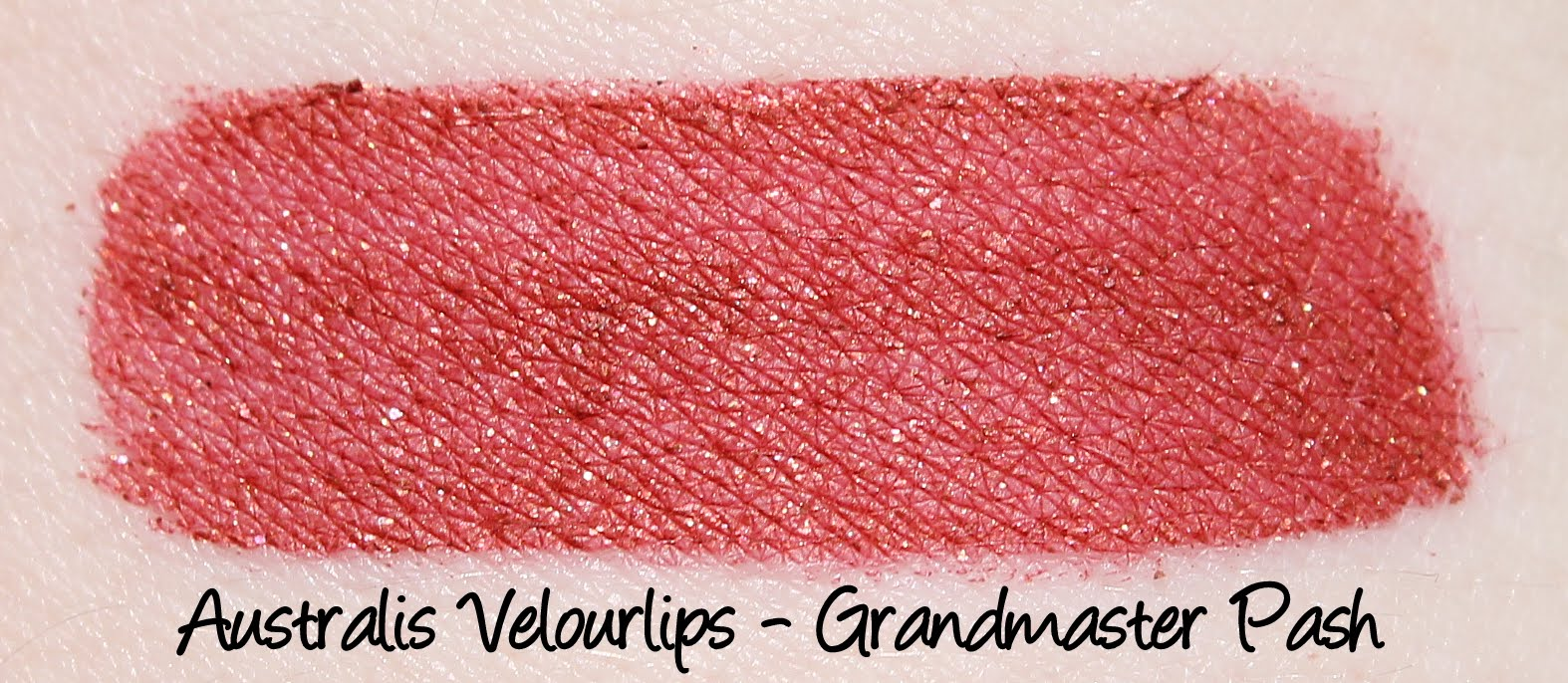 Australis Velourlips - Grandmaster Pash Swatches & Review