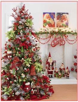 C mo decorar el arbolito de navidad como decorar el arbol for Pinos de navidad artificiales