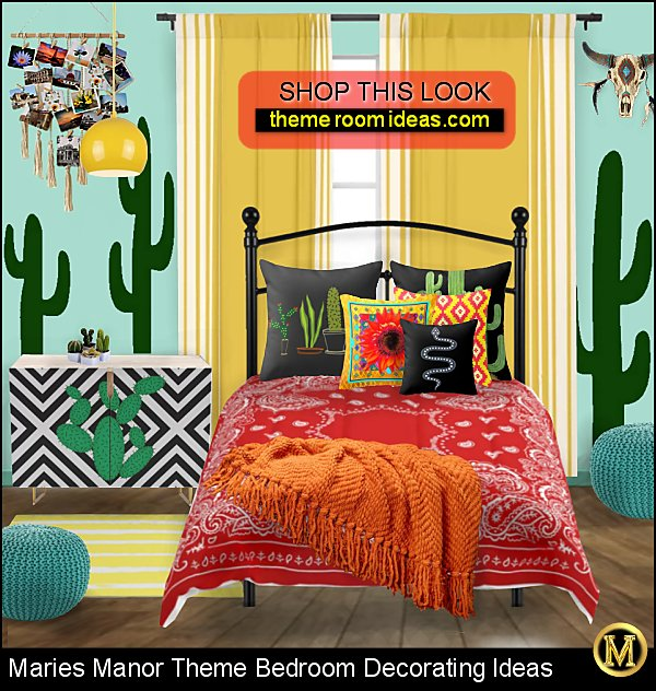 modern boho southwestern bedroom ideas  Modern Southwest Decor