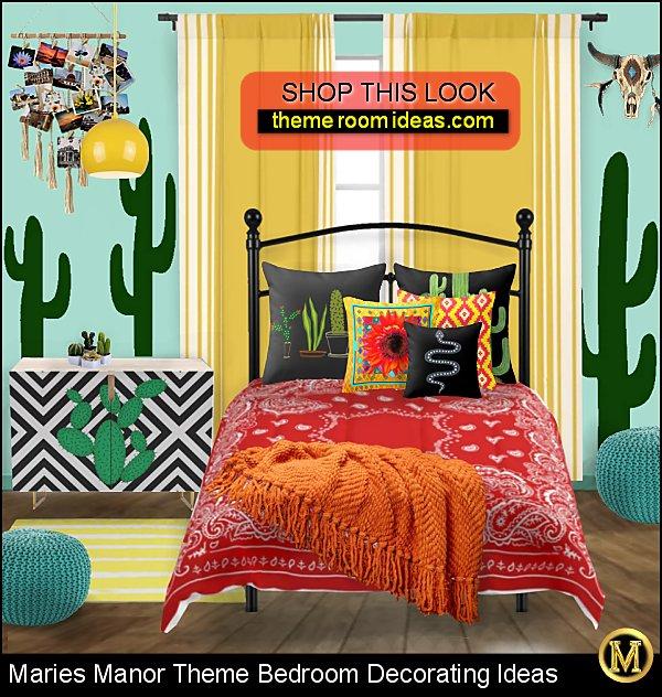 modern boho southwestern bedroom ideas  Modern Southwest Decor