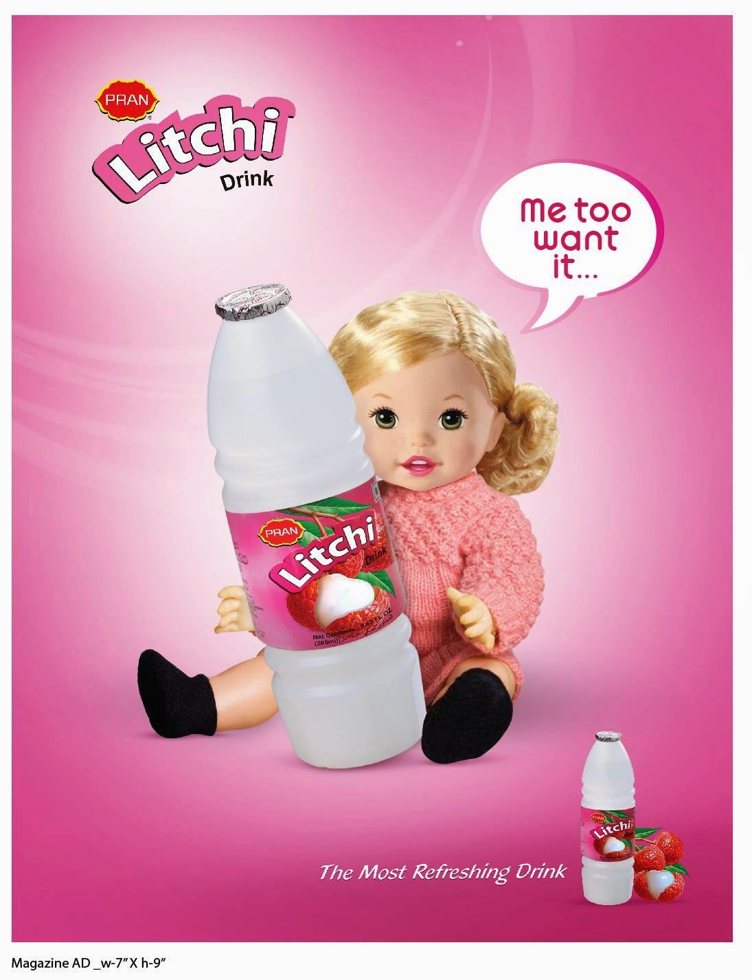 Litchi Drink Pran