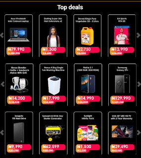 Jumia Top Deals