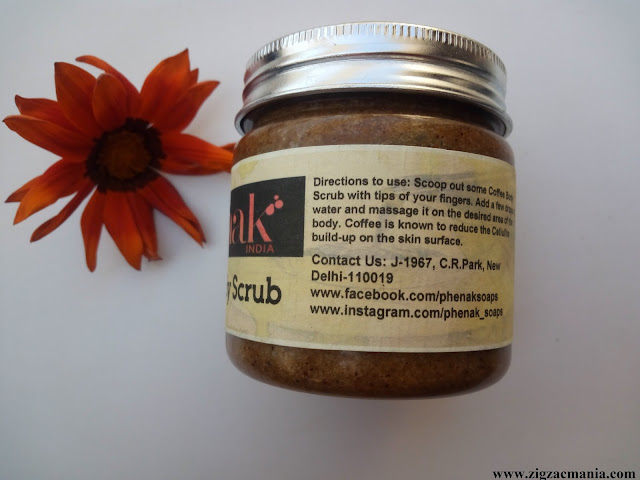 Phenak Coffee Body Scrub Price, Availability, Ingredient & Packaging