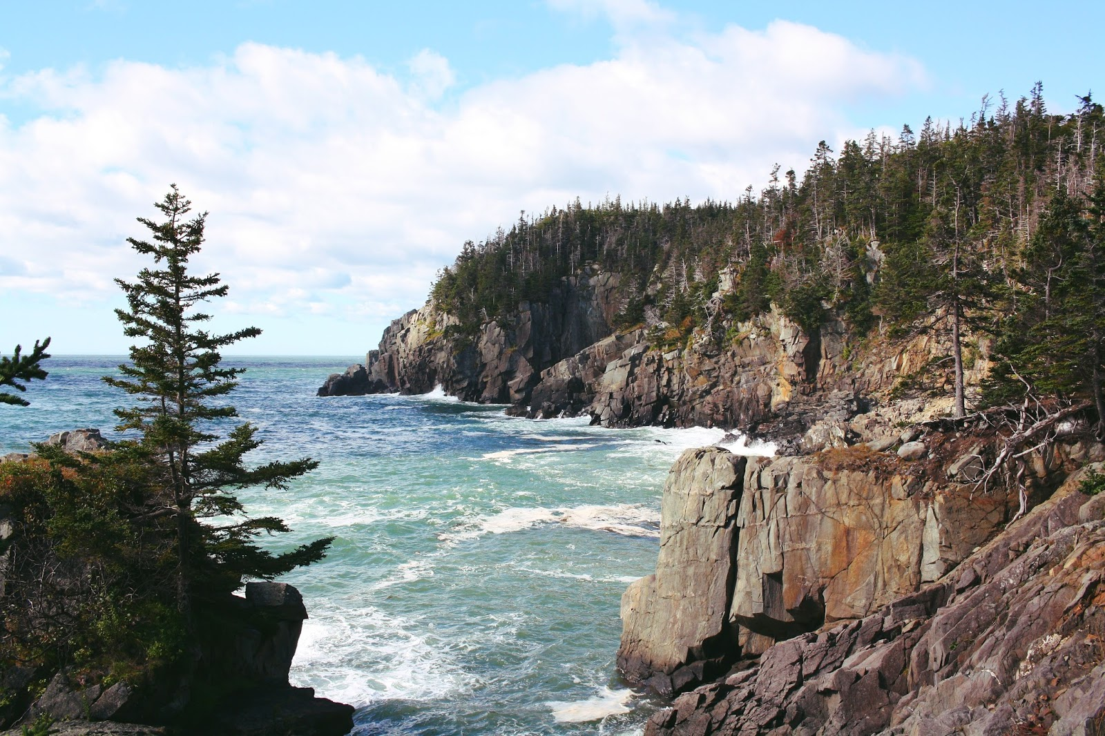 downeast maine cliffs