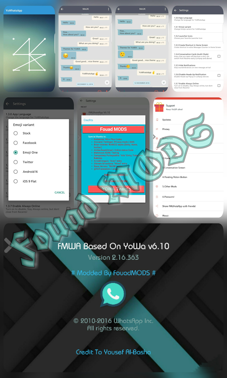 Download Fmwhatsapp V6 67 : download, fmwhatsapp, Fouad, WhatsApp+, FMWhatsApp, V6.10, Latest, Version, Download