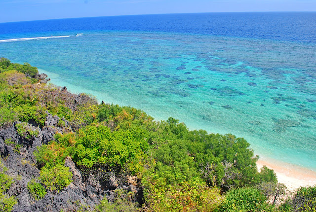 Scenic sights in Apo Reef
