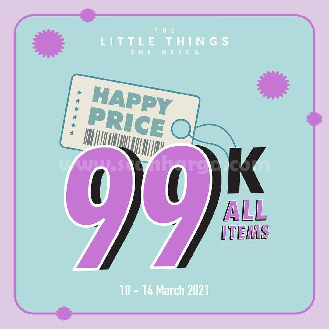 THE LITTLE THINGS SHE NEEDS Promo Happy Price 99K All Items