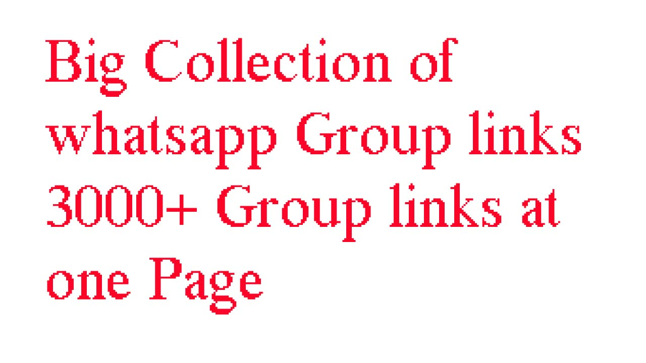 Whatsapp Group links Colletction July August 2017 - Shehzad Hussain